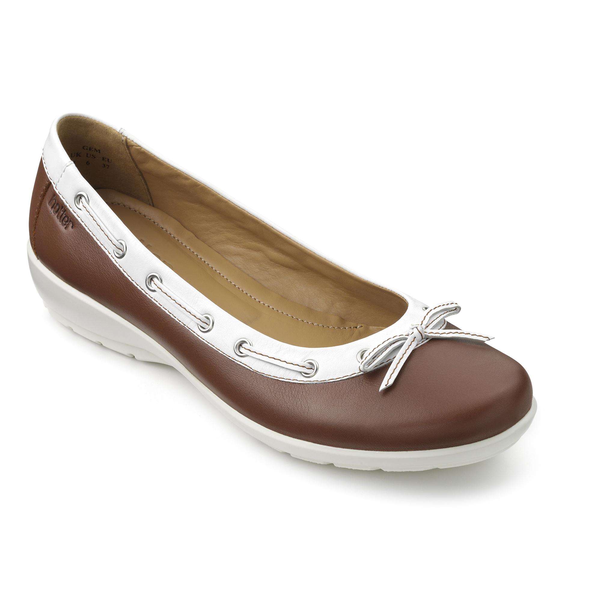 Hotter-Mujer-Gem-Senoras-Bailarina-Estilo-Zapatos-Calzado-Zapatillas-Casual