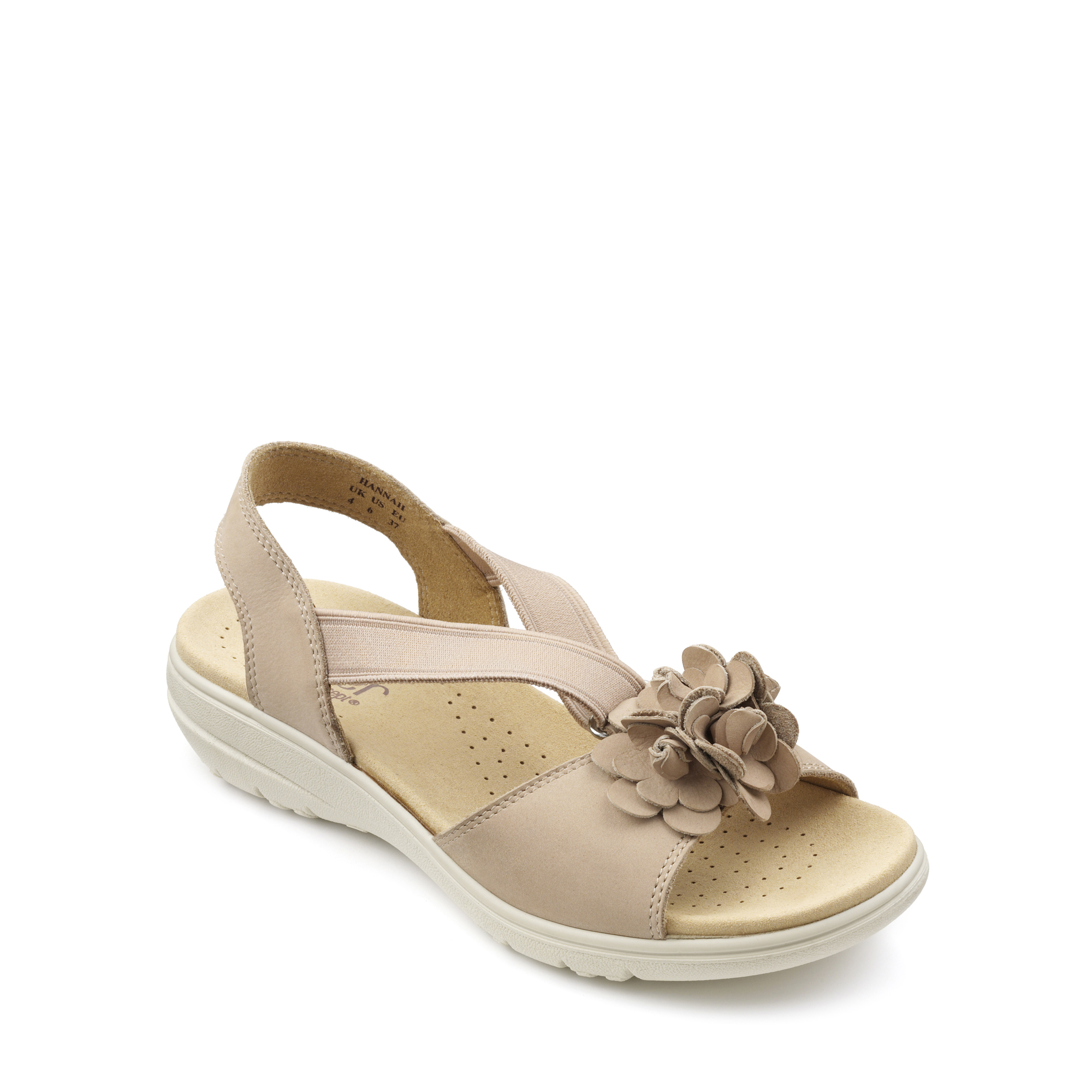 Hotter-Mujer-Hannah-Senoras-Casual-Sandalias-Verano-Calzado-Textil