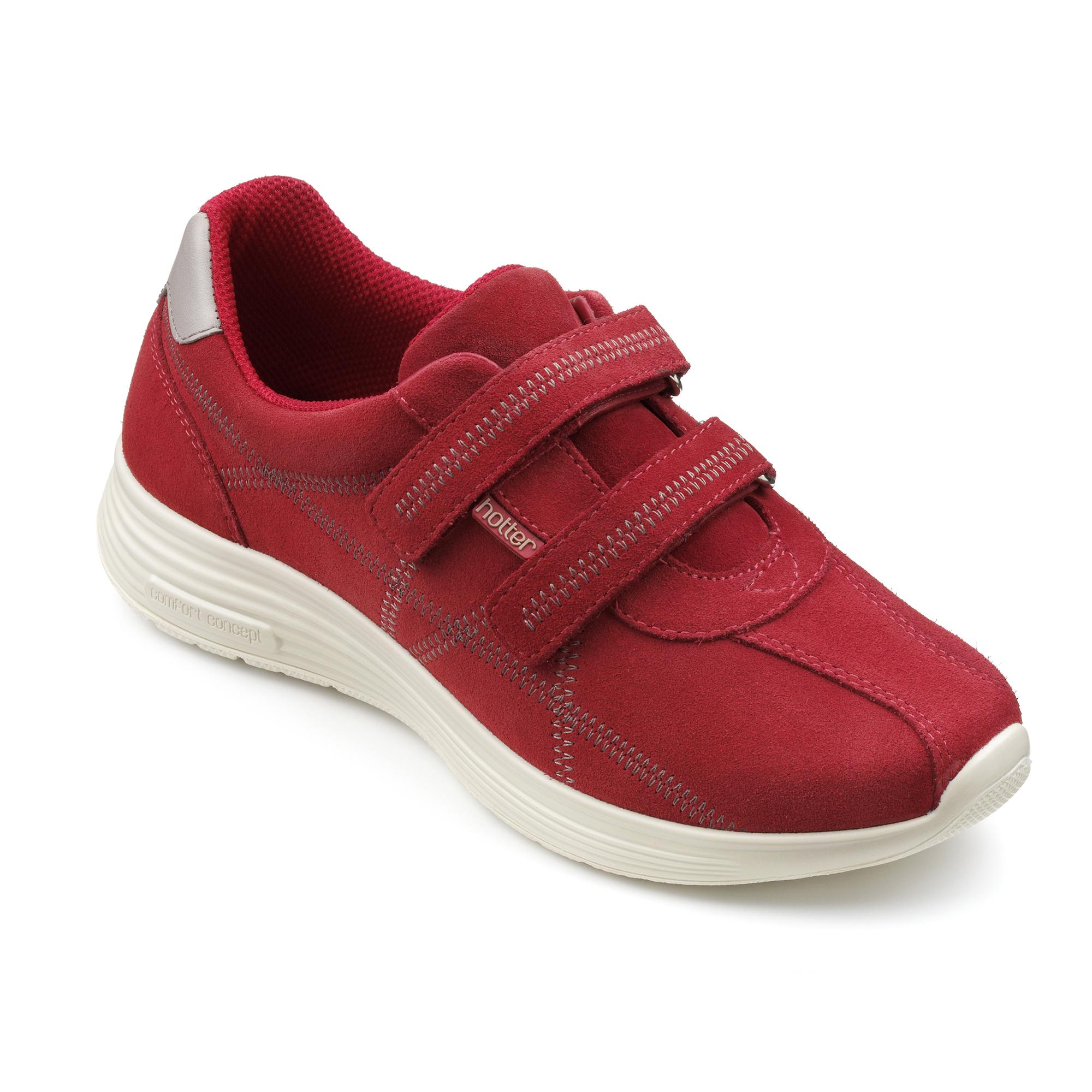 Hotter-Mujer-Astrid-Senoras-Casual-Zapatos-Calzado-Zapatillas-Cuero-Textil