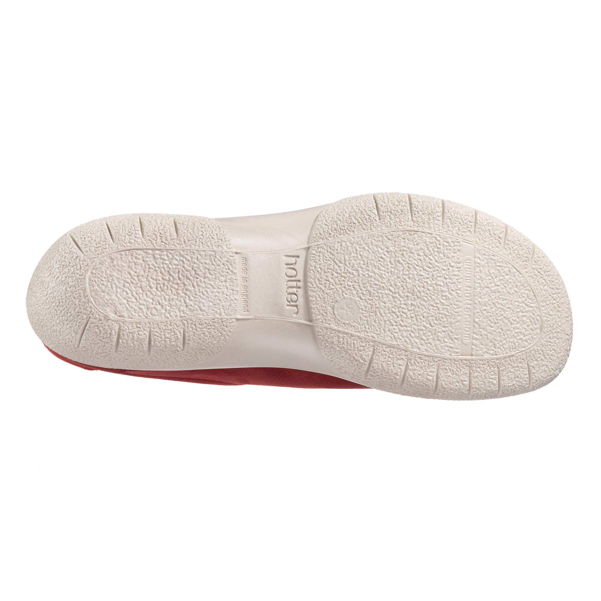 Hotter-Mujer-Dew-Senoras-Casual-Ponerse-Zapatos-Calzado-Zapatillas-Cuero-Textil